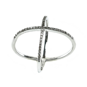 Tattoo ring micro pave