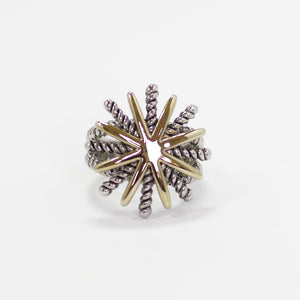 Designer Inspired Starburst Ring