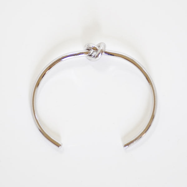 Silver Surgical Designer Bangle