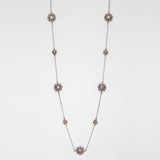 "Designer Inspired Starburst 36"" Necklace"