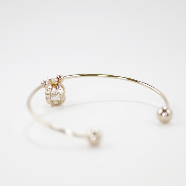 Surgical Designer Inspired Rose Gold Open Bangle