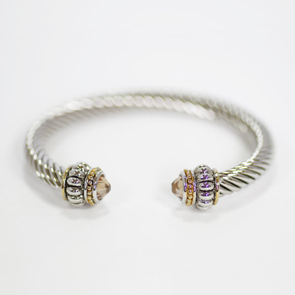 Topaz_Champagne Inspired Bangle