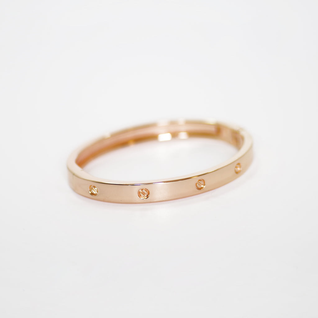 gold open light bracelets bangles pink relief bas peach grace bangle westwood jewellery vivienne