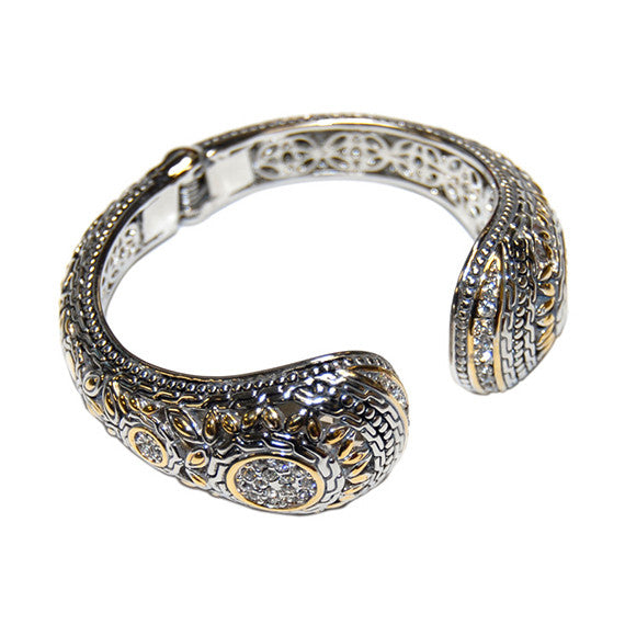 Ornate Designer Inspired Bangle