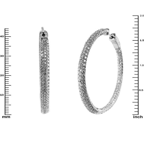 J Lo Micropave Hoops