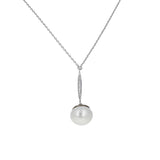 Freshwater Pearl Drop 2 Piece Gift Set of Necklace and Earrings