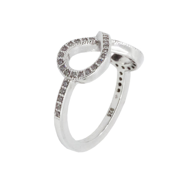 Micro Pave Infinity Ring