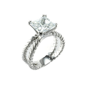 3.0 CT Princess Designer Ring