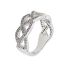 Micro Pave Celtic Knot Ring