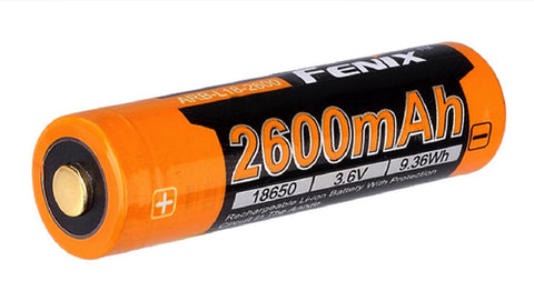 Fenix Flashlight 18650 Battery ARB-L18-2600
