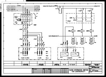 Electrical Control Panel Schematics