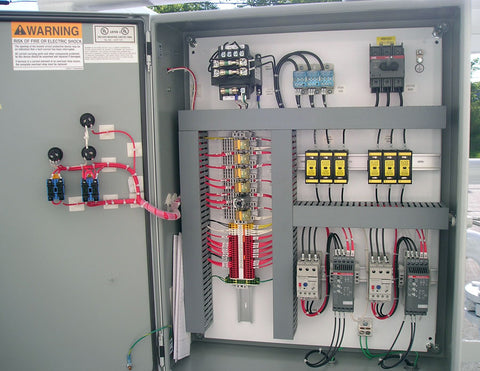 Industrial Control Panel Fabrication