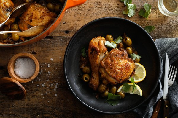 Recipe #15: Chicken with Green Olives