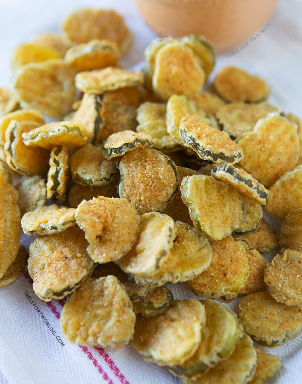 Recipe #23: Fried Sweet Pickle Chips