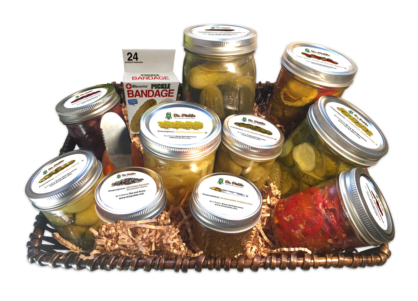 Pickle Gift Basket