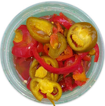 Hot Sliced Cherry Peppers