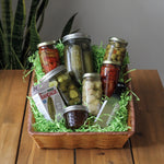Pickle Fanatic Gift Basket