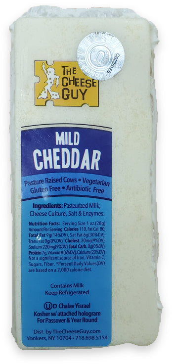 Mild Cheddar Cheese (Certified Kosher)