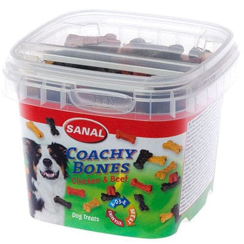 Sanal Dog Coachy Bones Chicken And Beef 100g