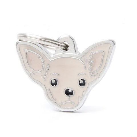 Chihuahua Shaped Necklace
