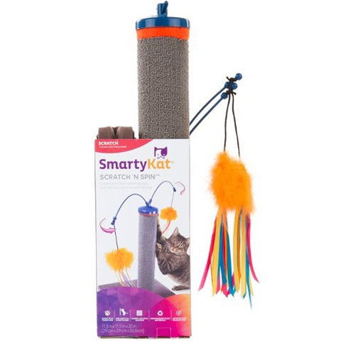 SmartyKat Scratcher And Fishing Rod Cat Toy