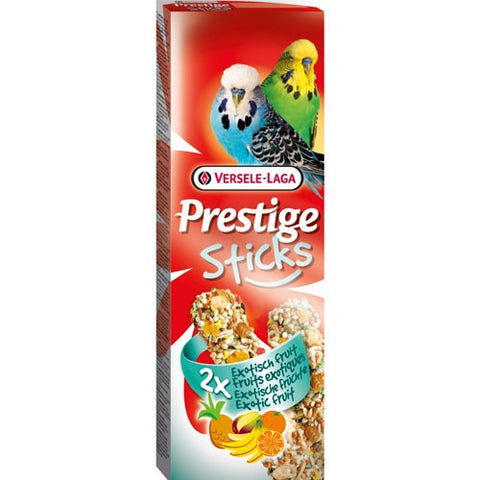 Versele Laga Prestige Tropical Fruits For Small Parrots and Budgies 60g