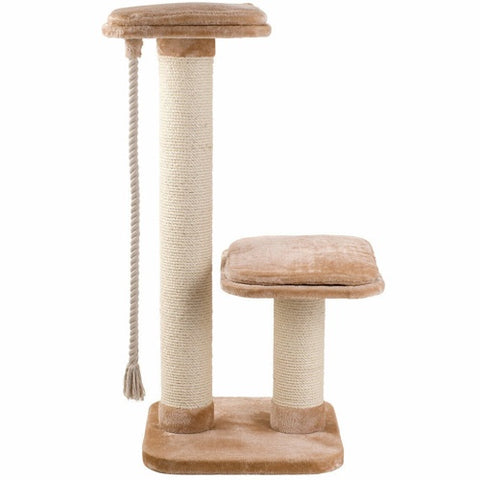 A ​Cat Tree Scratchier with a color of Beige 71 * 60 * 150 cm