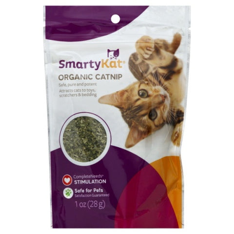 SmartyKat Organic Catnip For Cats 28g