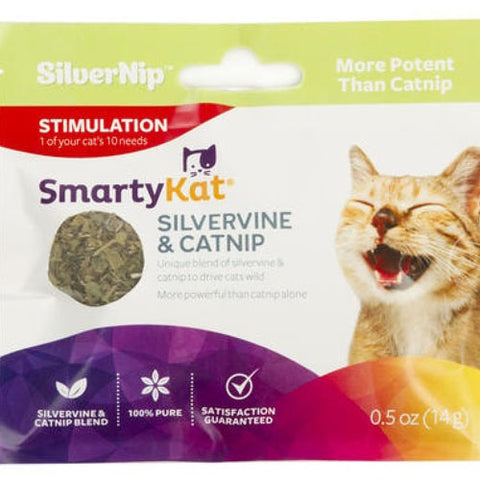 SmartyKat Silvervine & Catnip 14g for cats