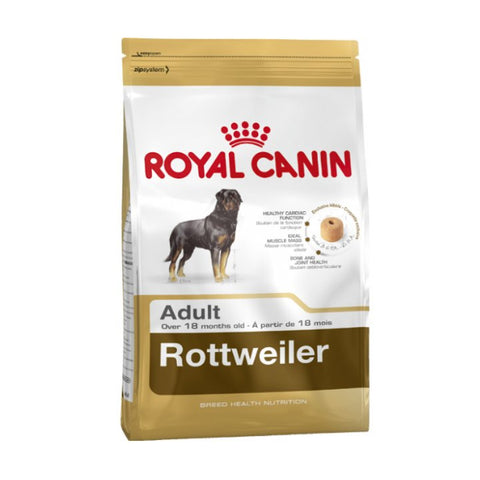 Royal Canin for adult Retwiller dogs that are 18 months old