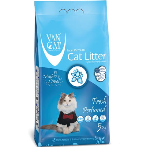 VanCat Super Premium Cat Litter with the Fresh Scent of Spring