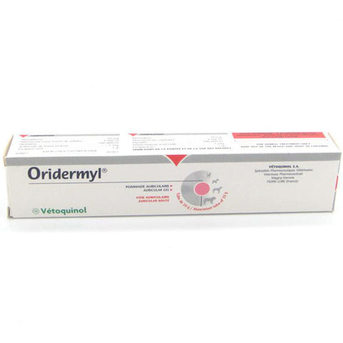Oridermyl for the treatment of ear mites 10 g