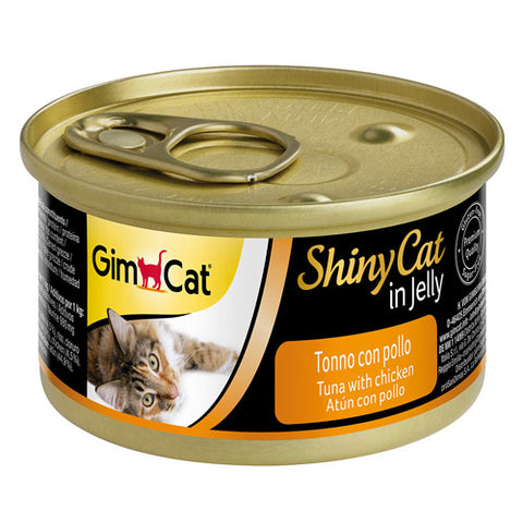 GimCat ShinyCat in Jelly tuna with chicken 70g