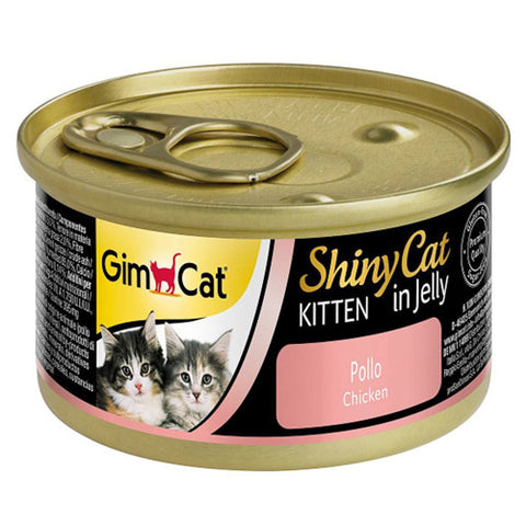 Gim Cat Chicken in jelly Cans for Kittens 70g