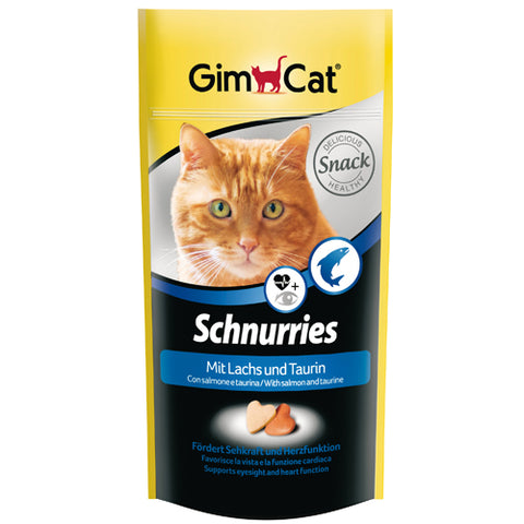 Gim Cat for Cats contains  Salmon & Taurine 40 LE