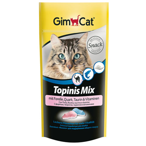 GimCat treats with yogurt, fish and Taurine