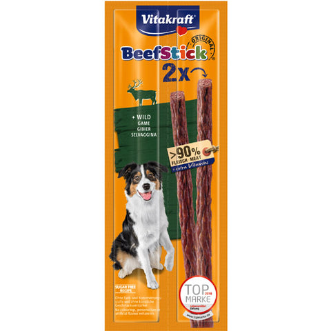 Vitakraft Beef Stick Wild Meat for Dogs 24 g