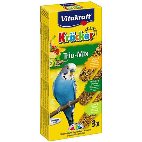 Vitakraft Cracker 3 Sticks Various Flavors for Budgies 90g