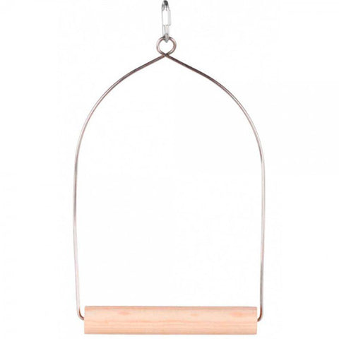 Trixie Natural Wood Swing - Medium Size
