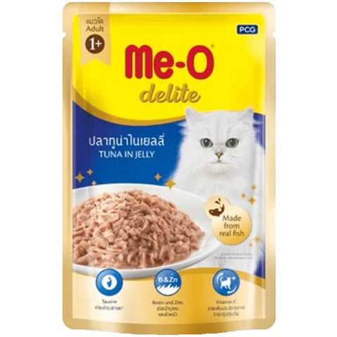 Me-O Cat Food Tuna In Jelly Pouches 70g