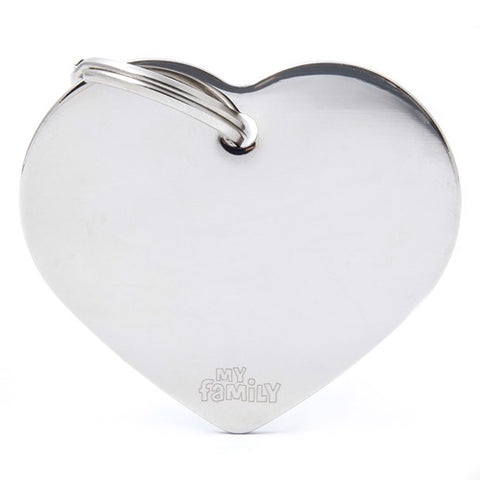 Chrome Heart shaped Necklace