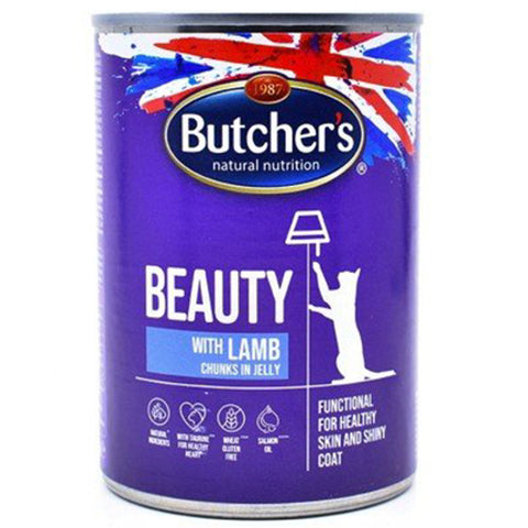 Butcher's Classic Pro with Lamb Chunks in Jelly Cans for Cats 400g