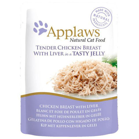 Applaws Chicken envelops With Liver In Jelly 70 g