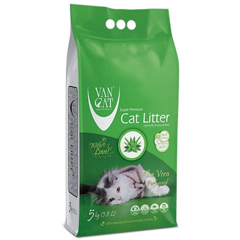 VanCat Super Premium Cat Litter with the Scent of Aloe vera