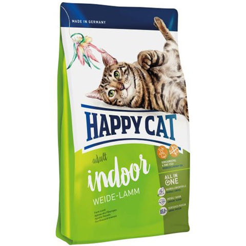 Happy Cat Indoor Dry Food  Lamb