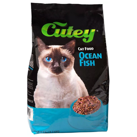 Cutey Cat Dry Food Ocean's Fish 1.5kg