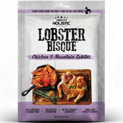 Absolute Holistic (Lobster & Chicken 5×12g) Dogs And Cats Treat