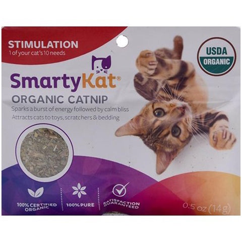 SmartyKat Organic Catnip For Cats