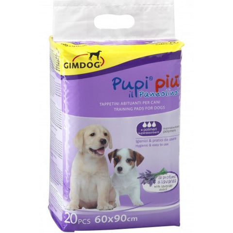 GimDog Pampers Lavender to get dogs used to urinating 20 size 60 * 90 cm