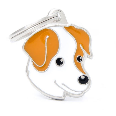 Jack Russell Shaped Necklace